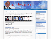 Tablet Preview of gunnheden.se